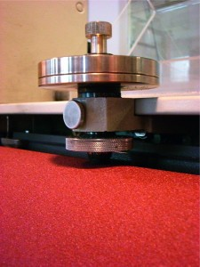 Indicator Abrasion DIN ISO 4649